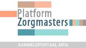 Aanmeldportaal Masters | Platform Zorgmasters