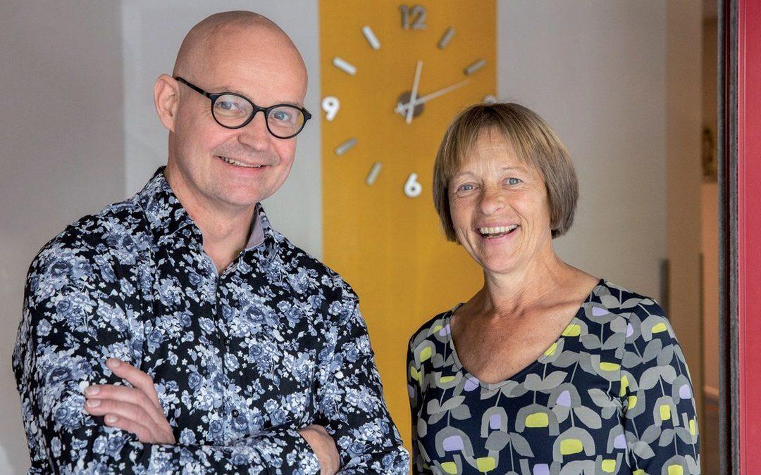 VS-GGZ Peter Coolen en huisarts Ineke Hussaarts