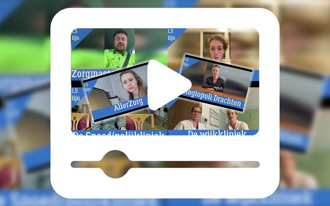 Bekijk de video's waarin PA's en VS'en vertellen over hun project in anderhalvelijnszorg