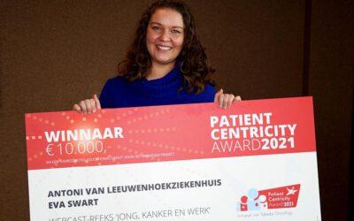 Verpleegkundig Specialist wint Patient Centricity Award